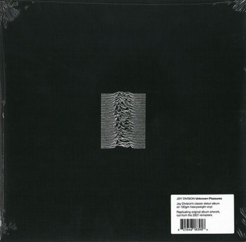 JOY DIVISION Unknown Pleasures Vinyl Record LP Factory 2015